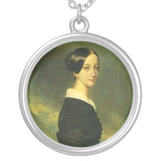 Francisca de braganca colgante redondo
