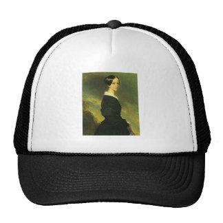 Francisca de braganca mesh hat