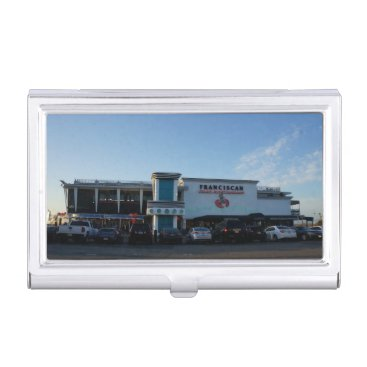Professional Business Franciscan Crab Restaurant Business Card Holder