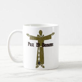 Franciscan Greetings Coffee Mug