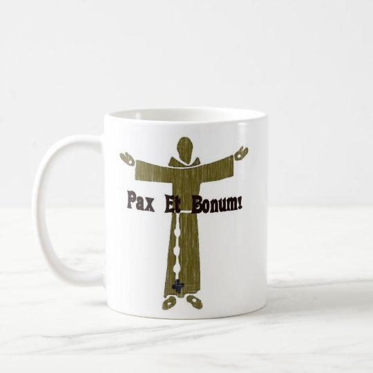 Franciscan Greetings Coffee Mug