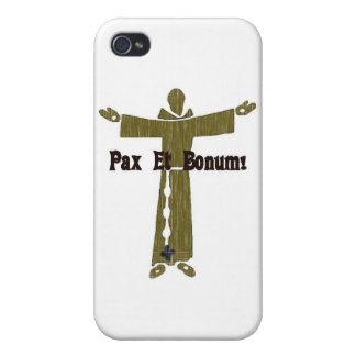 Franciscan Greetings iPhone 4 Cases