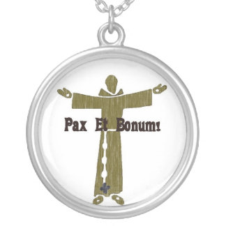 Franciscan Greetings Necklace