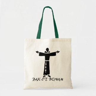 Franciscan Greetings Tote Bag