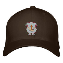 Franciscan logo - crest embroidered baseball cap