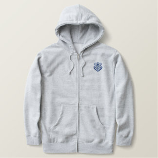 Franciscan logo - crest embroidered hoodie