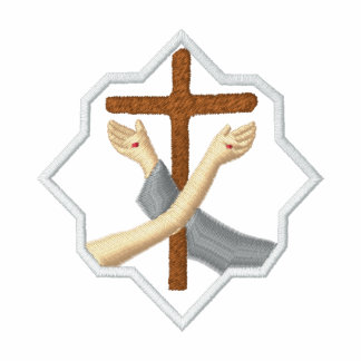 Franciscan symbol - crest embroidered shirts
