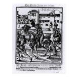 Francisco Alvarez on horseback Postcards