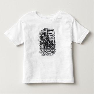 Francisco Alvarez on horseback Toddler T-shirt