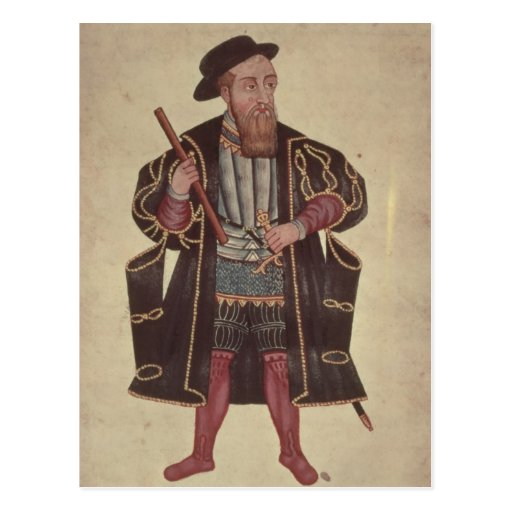 Francisco de Almeida, ejemplo Tarjetas Postales