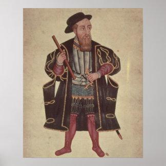 Francisco de Almeida, illustration Poster