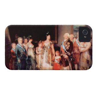 Francisco de Goya - Charles IV of Spain and His Fa iPhone 4 Cover
