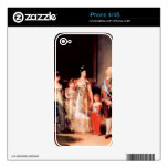 Francisco de Goya - Charles IV of Spain and His Fa iPhone 4S Decal