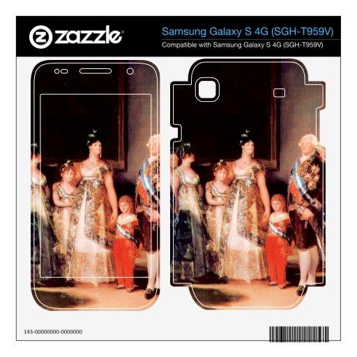 Francisco de Goya - Charles IV of Spain and His Fa Samsung Galaxy S 4G Skin