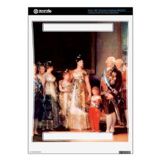 Francisco de Goya - Charles IV of Spain and His Fa Xbox 360 Skins