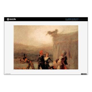 """Francisco de Goya - Comicos Ambulantes Decals For 13"""" Laptops"""