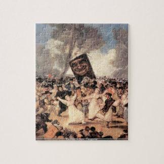 Francisco de Goya - el rompecabezas de la amolador