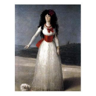 Francisco de Goya Espa?ol: Duquesa de Alba 1795 Te Postcard