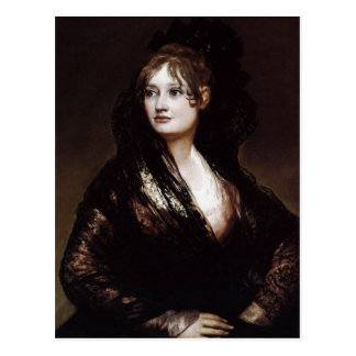 ¿Francisco de Goya Espa? ol: ¿Haga? una Isabel Cob Postales