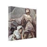 Francisco de Goya - espectador Impresión En Lona