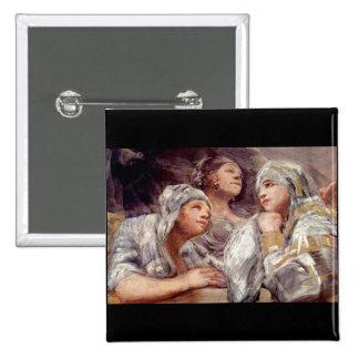Francisco de Goya - espectadores Pin