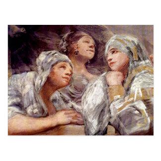 Francisco de Goya - espectadores Postales