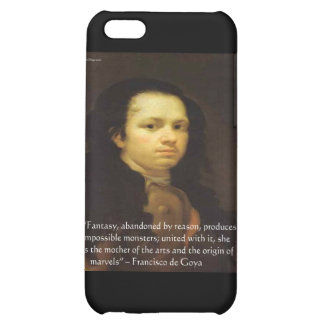 "Francisco de Goya ""Fantasy Monster"" Quote Gifts iPhone 5C Cover"