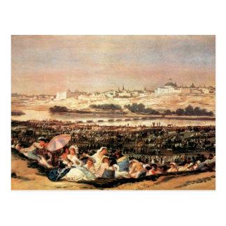 Francisco de Goya - festival popular en el San Isi Tarjetas Postales