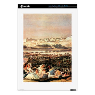 Francisco de Goya - Folk Festival at the San Isidr Skins For The PS3