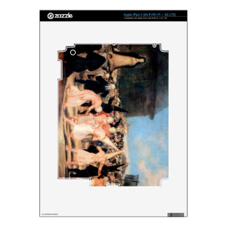 Francisco de Goya - Geissler procession Decal For iPad 3