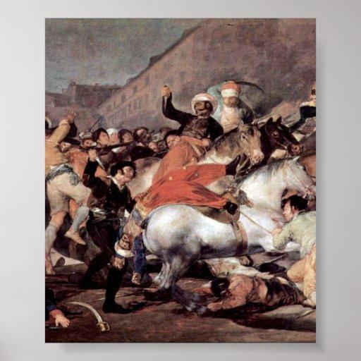 Francisco de Goya - la carga del Mamelukes Impresiones