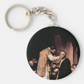 Francisco de Goya - la comunión pasada de St José Llavero Personalizado