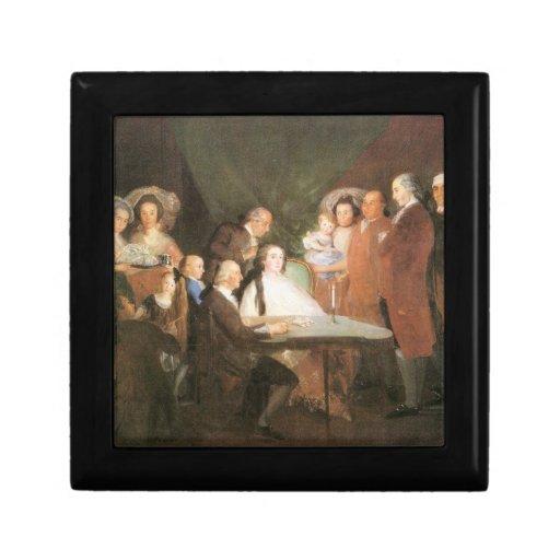 Francisco de Goya - La famille de l infant Don Lou Keepsake Boxes