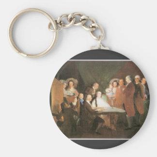 Francisco de Goya - La famille de l infant Don Lou Keychain