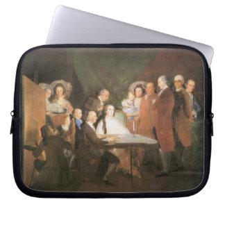 Francisco de Goya - La famille de l infant Don Lou Laptop Computer Sleeve
