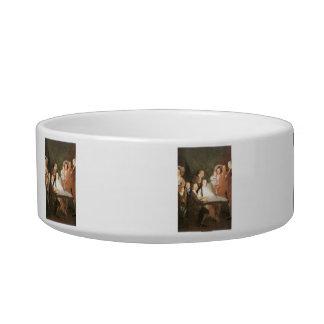 Francisco de Goya - La famille de l infant Don Lou Cat Food Bowls