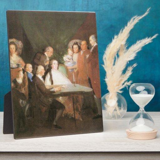 Francisco de Goya - La famille de l infant Don Lou Plaque