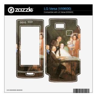 Francisco de Goya - La famille de l infant Don Lou LG Versa Decal