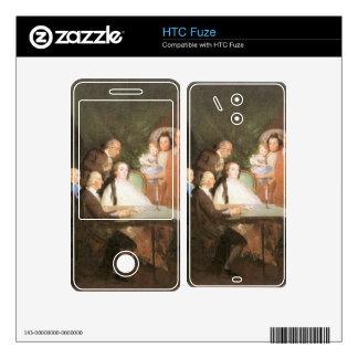 Francisco de Goya - La famille de l infant Don Lou Skin For The HTC Fuze