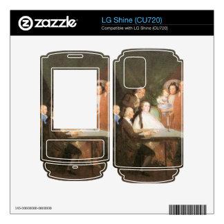 Francisco de Goya - La famille de l infant Don Lou Decals For LG Shine