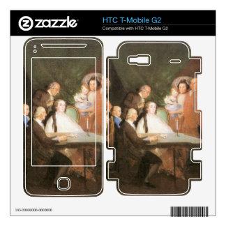 Francisco de Goya - La famille de l infant Don Lou Decal For HTC T-Mobile G2
