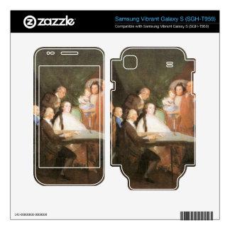 Francisco de Goya - La famille de l infant Don Lou Samsung Vibrant Skins