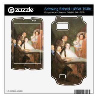 Francisco de Goya - La famille de l infant Don Lou Samsung Behold II Decals