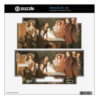 Francisco de Goya - La famille de l infant Don Lou Decals For The DS Lite