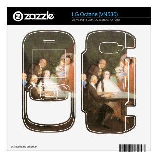 Francisco de Goya - La famille de l infant Don Lou Decal For The LG Octane