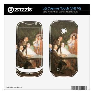 Francisco de Goya - La famille de l infant Don Lou Skin For LG Cosmos Touch
