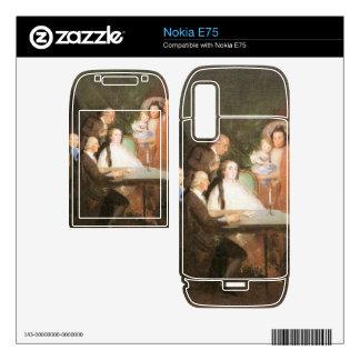 Francisco de Goya - La famille de l infant Don Lou Nokia E75 Decals