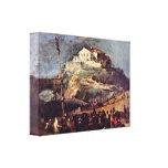 Francisco de Goya - Maypole Lona Envuelta Para Galerías