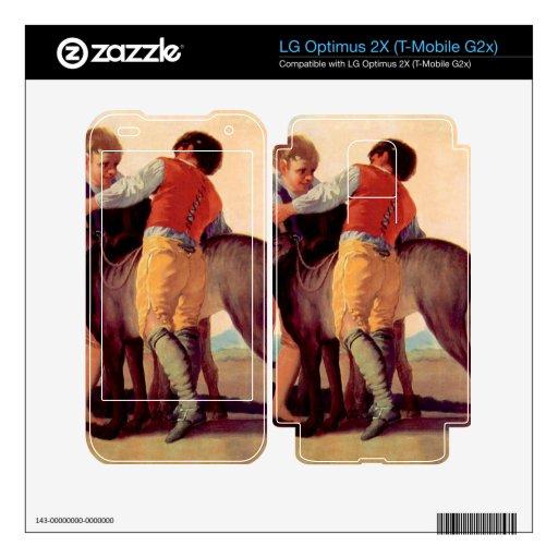 Francisco de Goya - muchachos con los perros de la LG Optimus 2X Skin