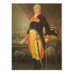 Francisco de Goya - Portrait du naturaliste Felix Postcard